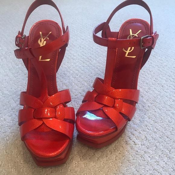 2edca36efae Yves Saint Laurent Shoes | Ysl Red Tributes | Poshmark